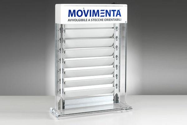 espositore in plexiglass