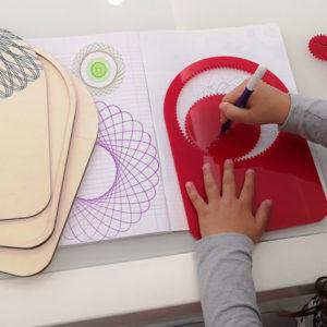 gioco per disegnare le spirali